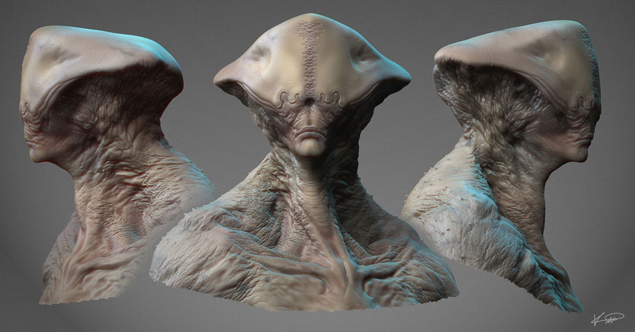 3d animation alien - 3 10
